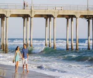 Comfort Suites Huntington Beach Attraction - Enjoy a Walk on The Beach