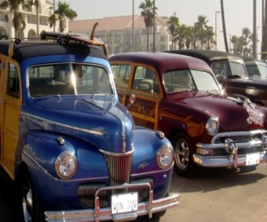 Comfort Suites Huntington Beach Attraction - Woody Beach Cars