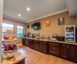 Comfort Inn Huntington Beach - Complimentary Breakfast Area